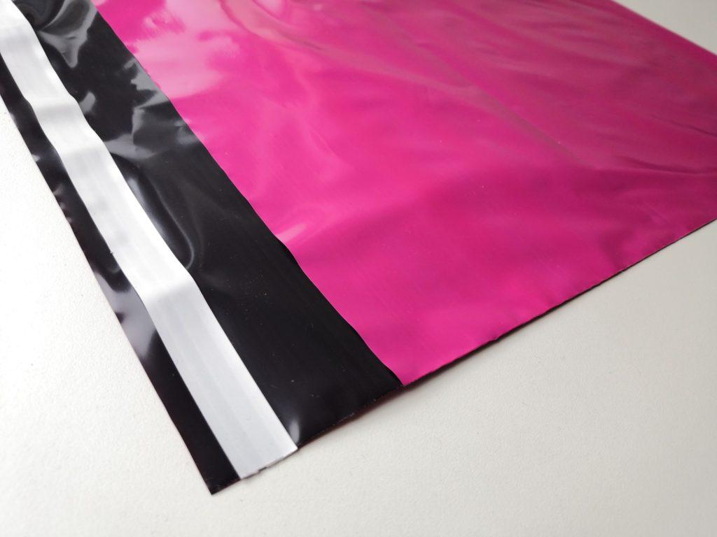 plastové obálky výroba, růžové plastové obálky, barevné plastové obálky